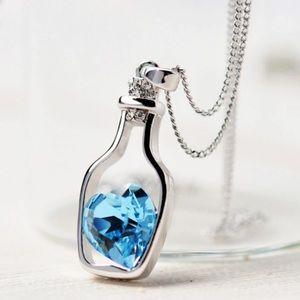 Austrian Crystal Necklace with Swarovski elements.